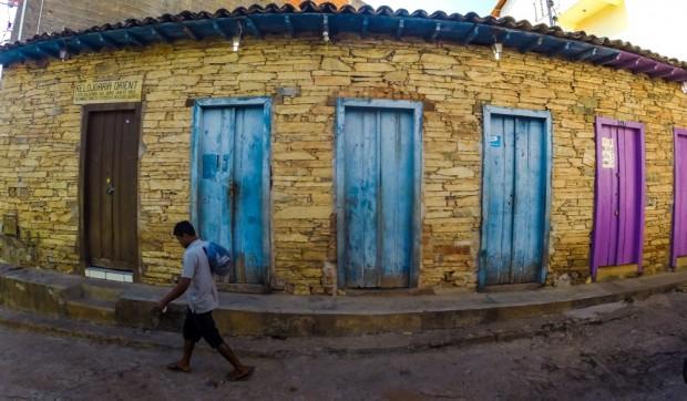 Centro da cidade  de Grão Mogol,  (MG)que foi construída  por escravos.    .( Foto Joel Silva / Folhapress. )